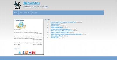 página web webadedios